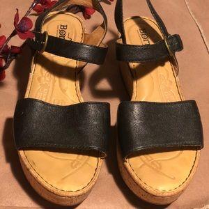 Born Wedges black Size 8